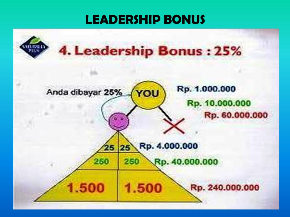 LEADERSHIP BONUS