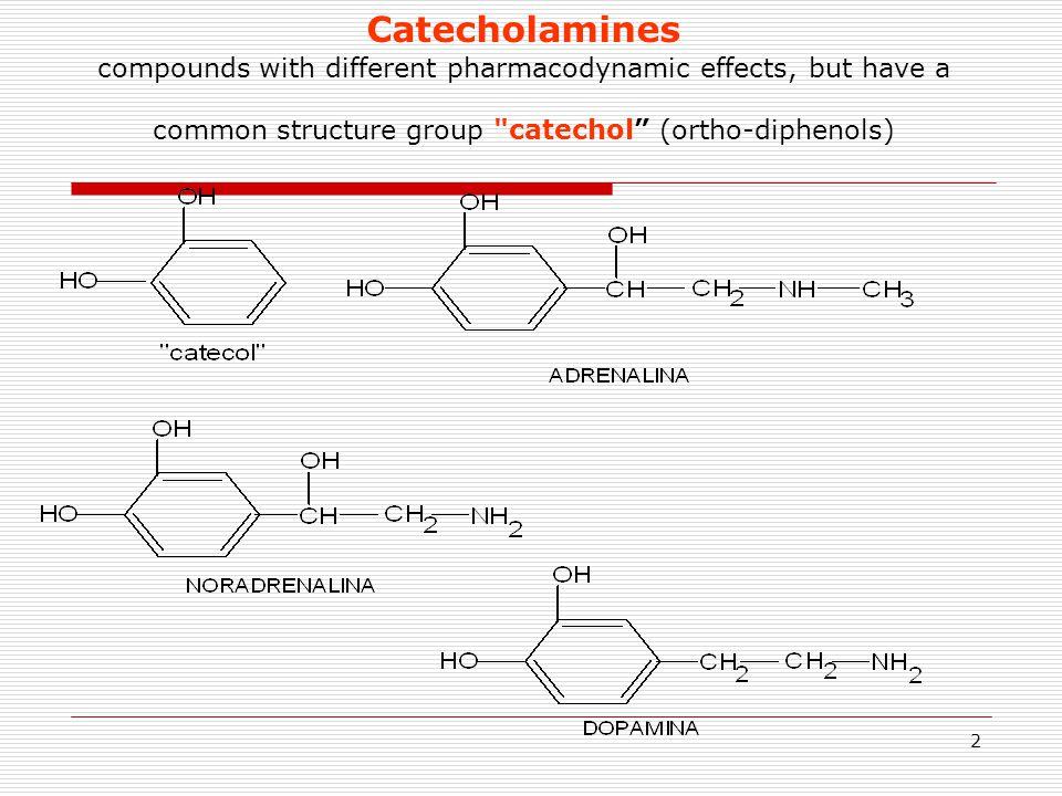 23 CLASIFICATION OF SYMPATHOMIMETICS   şi  Sympathomimetics direct  Adrenaline  Noradrenaline  Dopamine  Ibopamine indirect (Noradrenaline release) and direct  Efedrine