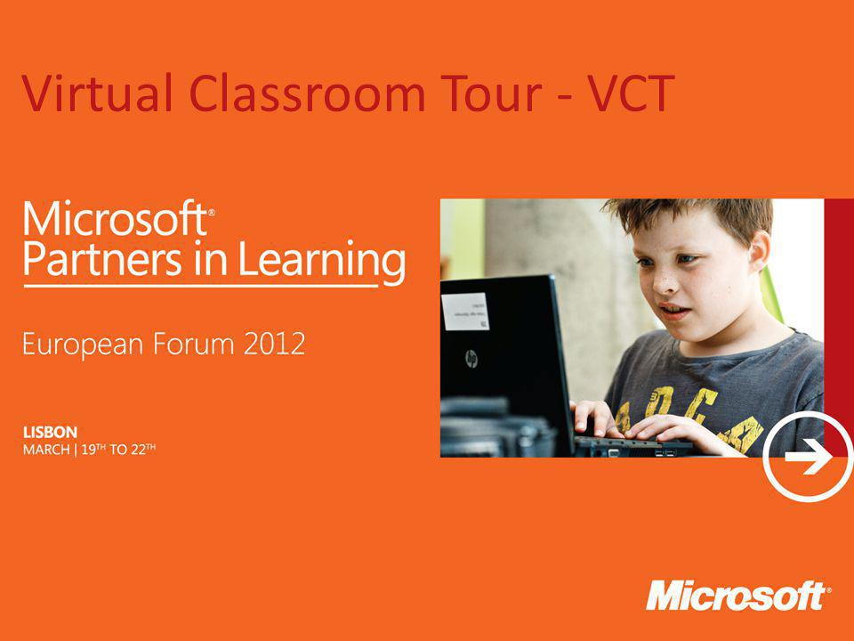 Virtual Classroom Tour - VCT