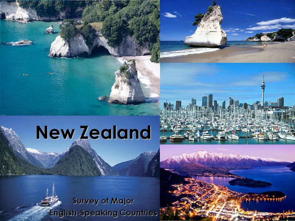New Zealand Survey of Major English-Speaking Countries