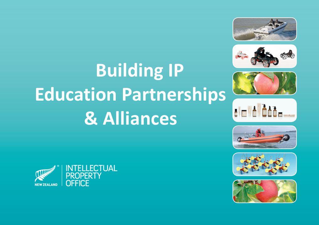 Building IP Education Partnerships & Alliances