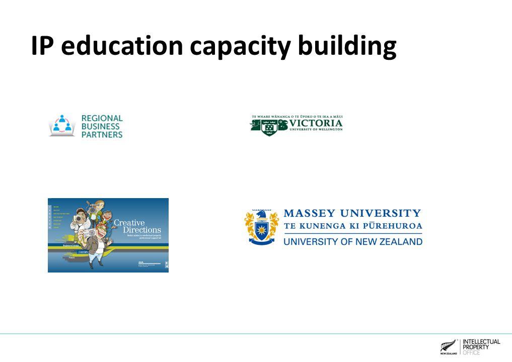 IP education capacity building