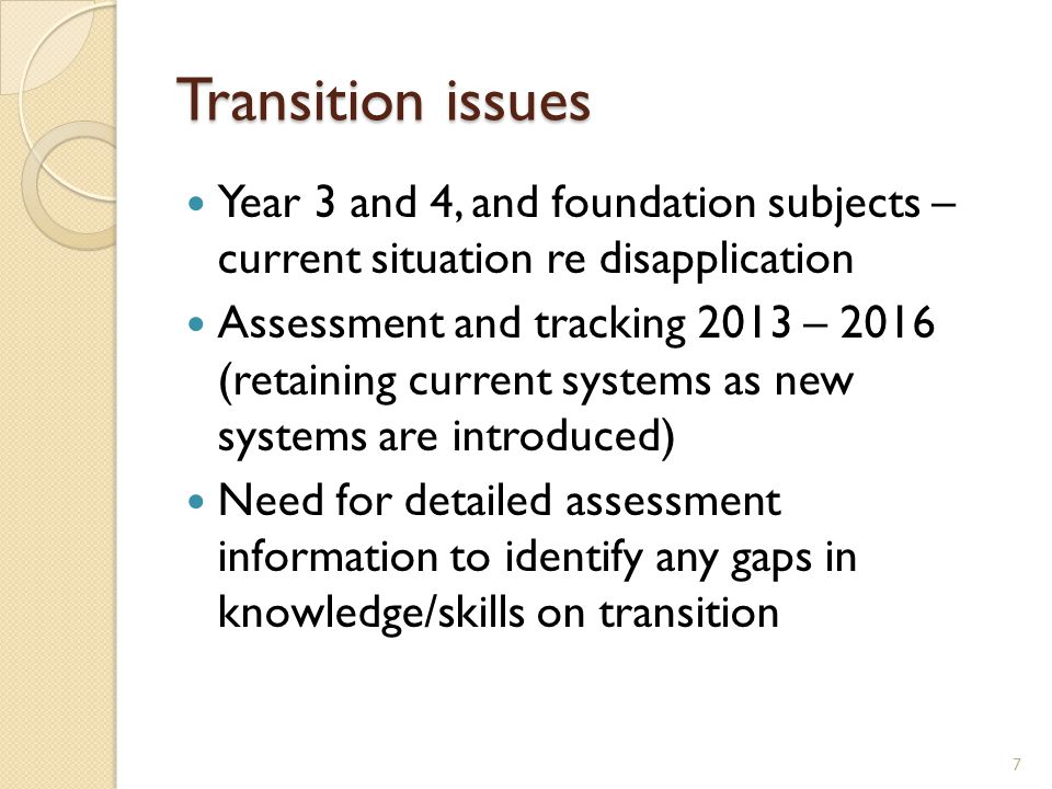 The case for change Need to raise performance/expectations Secondary readiness essential L4C – only 47% 5 x A-C incl E/M L4B/A – 72% achieve 5 x A-C incl E/M (2012 results) 28 All pupils (except those with learning difficulties) should be secondary ready.