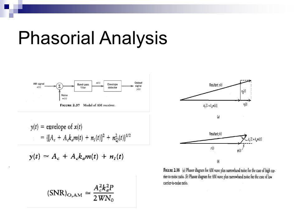 Phasorial Analysis