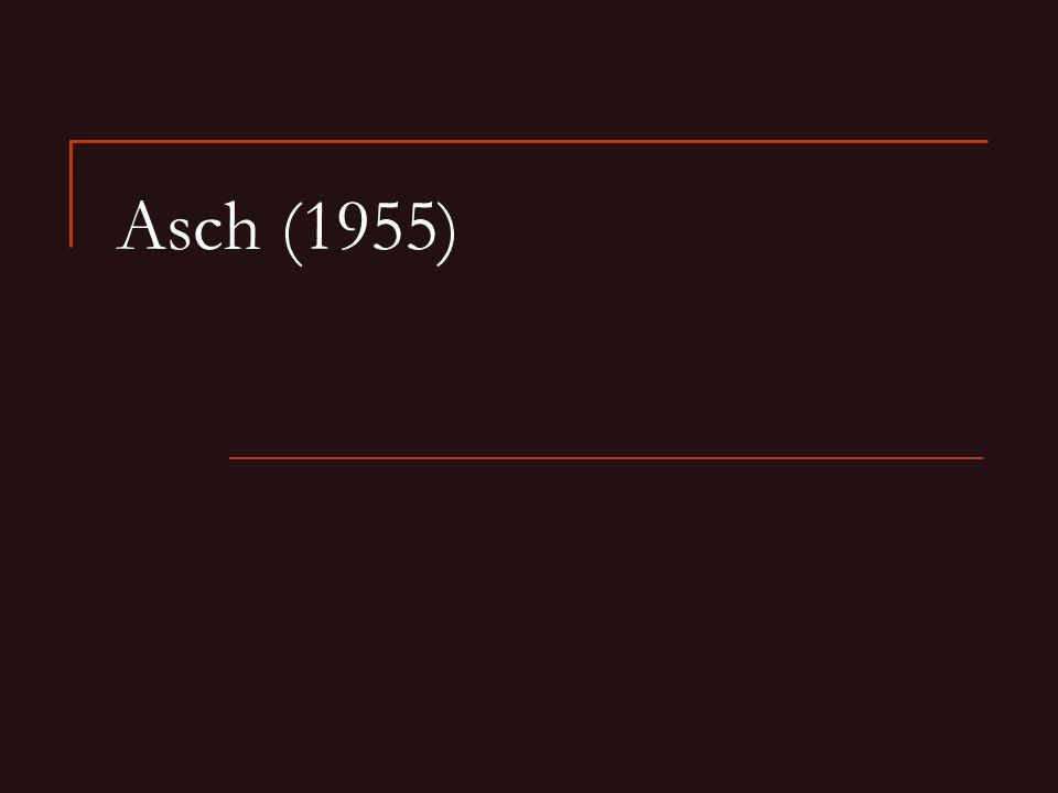 Asch (1955)