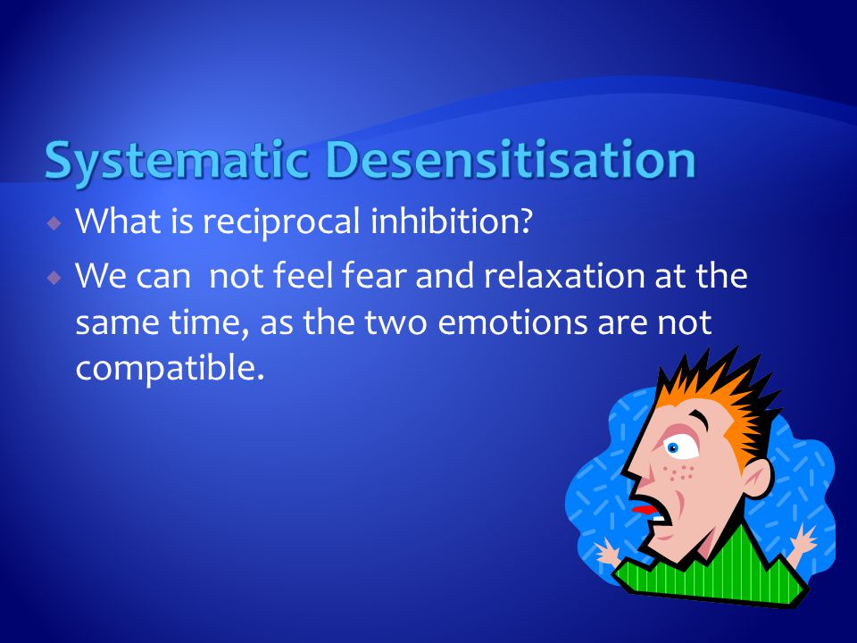  What is reciprocal inhibition.
