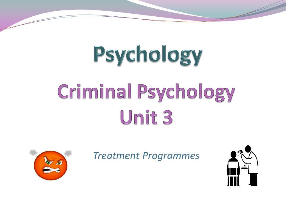 Treatment Programmes