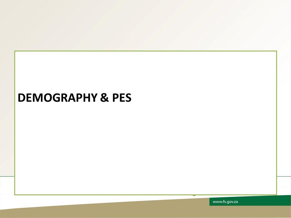 DEMOGRAPHY & PES