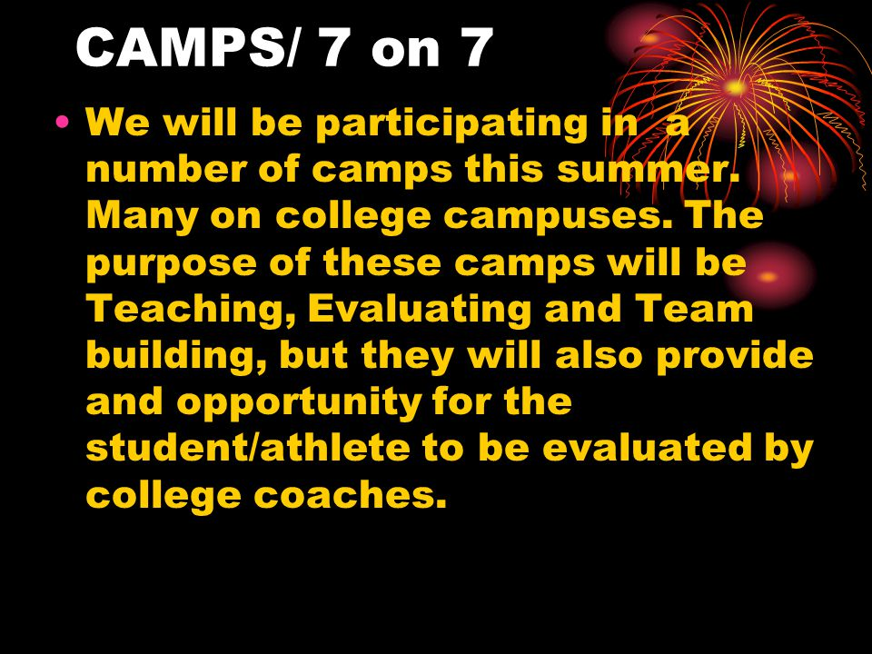 7on 7/Big Skill Calendar Howard Cty 7 on 7 at Oakland Mills park.Tues/Thurs during the month of June.