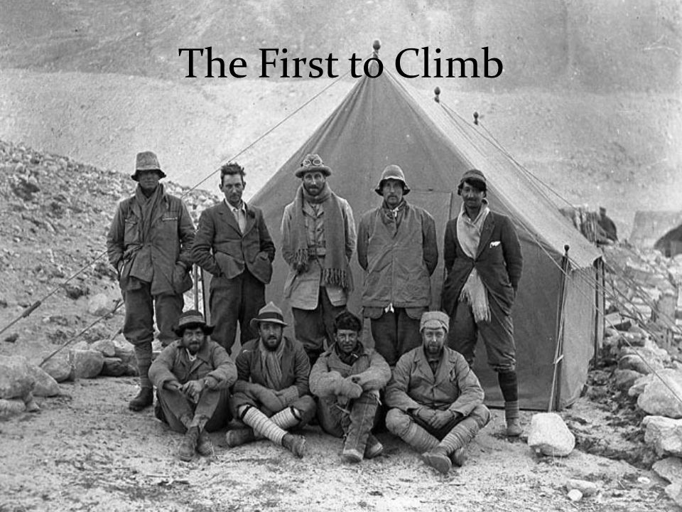 The First to Climb