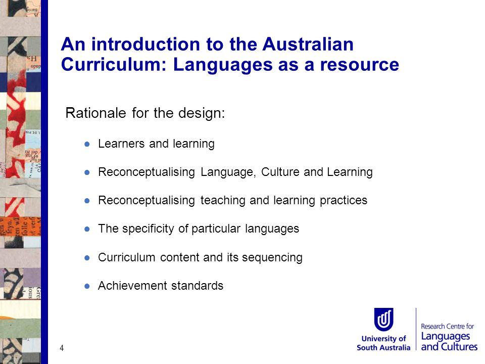 Learners and learning ●Increasing diversity of learners ●Who are our learners linguistically and culturally.