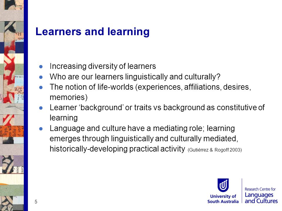 Byrnes (2006) states: The profession is being challenged… to find principled ways of linking foreign, heritage and native language instruction, to suggest ways of engaging all language users in continued language development toward high functional multilingualism in diverse hybrid spaces.