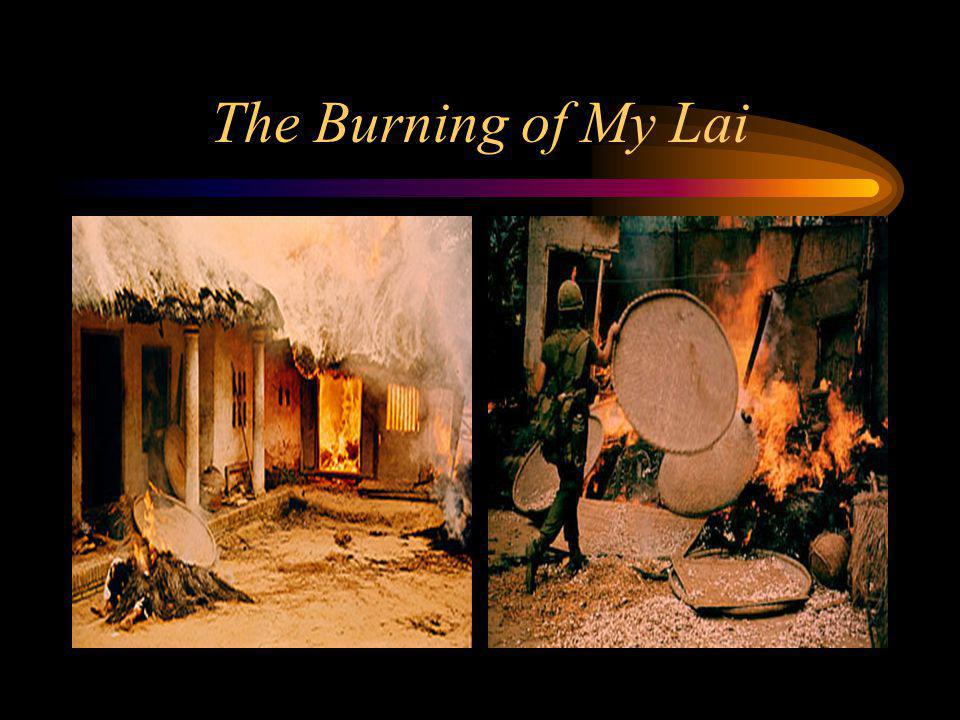 The Burning of My Lai