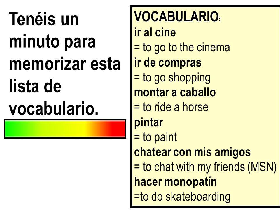 en un instituto español
