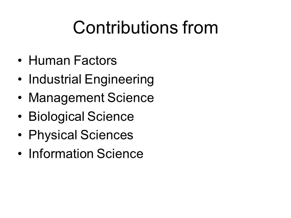 Significant Events in OM Division of labor (Smith, 1776) Standardized parts (Whitney, 1800) Scientific Management (Taylor, 1881) Coordinated assembly line (Ford 1913) Gantt charts (Gantt, 1916) Motion Study (the Gilbreths, 1922) Quality control (Shewhart, 1924)