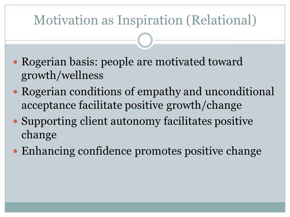 Status Quo or Negative Change Positive Change Ambivalence
