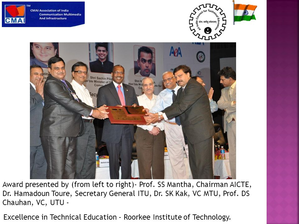 Excellence in Technical Education - Roorkee Institute of Technology.
