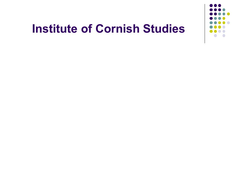 Institute of Cornish Studies