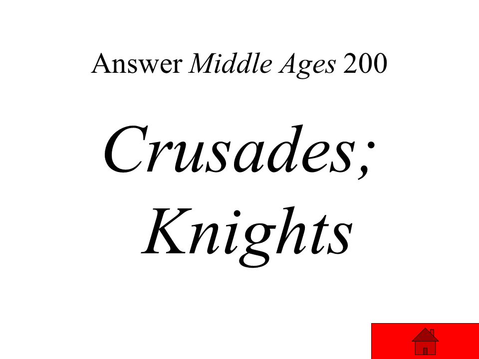 Answer Middle Ages 200 One of the effects of the _________ was that some __________ stayed in the Middle East to trade products back to Europe.