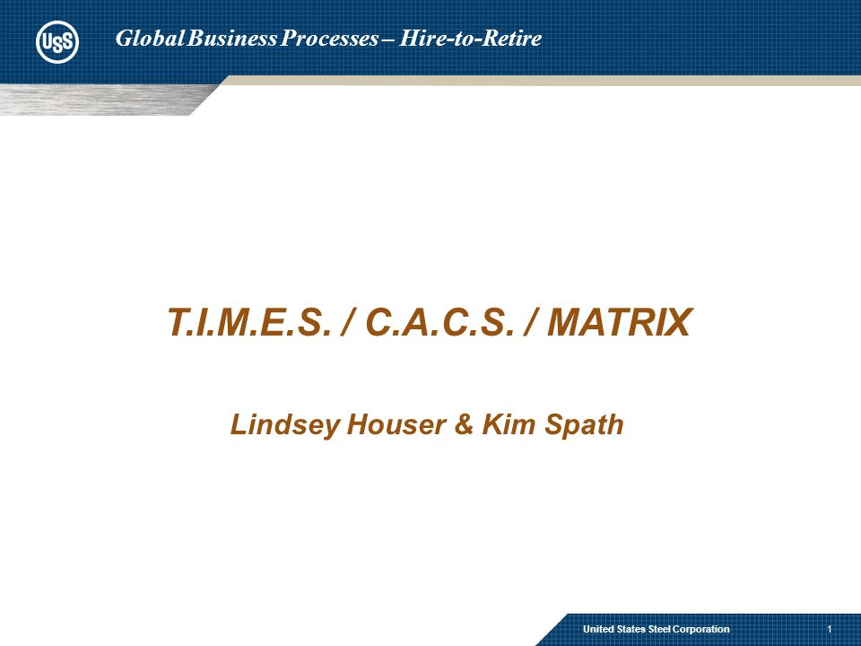 Time and Attendance Systems –T.I.M.E.S.–C.A.C.S.