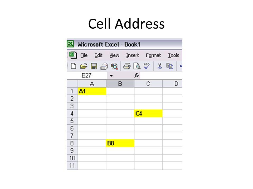 Cell Address