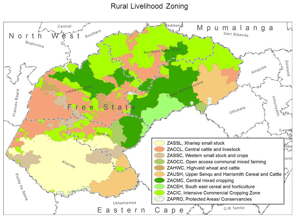 Rural Livelihood Zoning