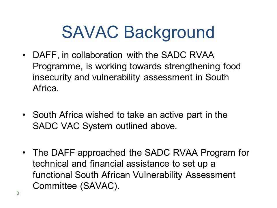 Why the SAVAC.