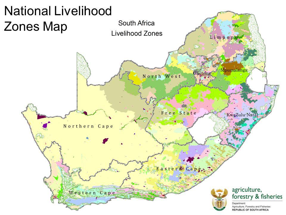 National Livelihood Zones Map