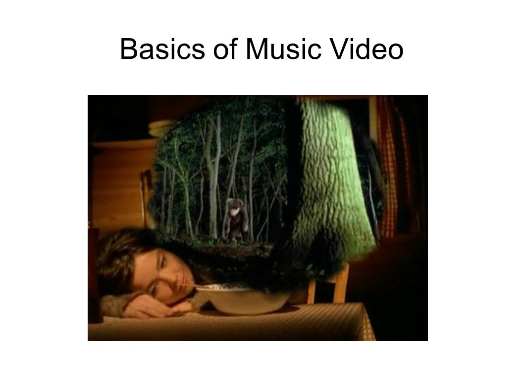 Basics of Music Video