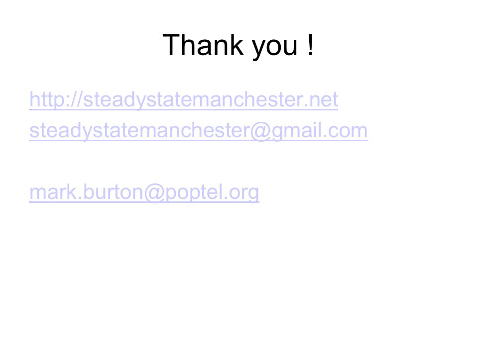 Thank you ! http://steadystatemanchester.net steadystatemanchester@gmail.com mark.burton@poptel.org