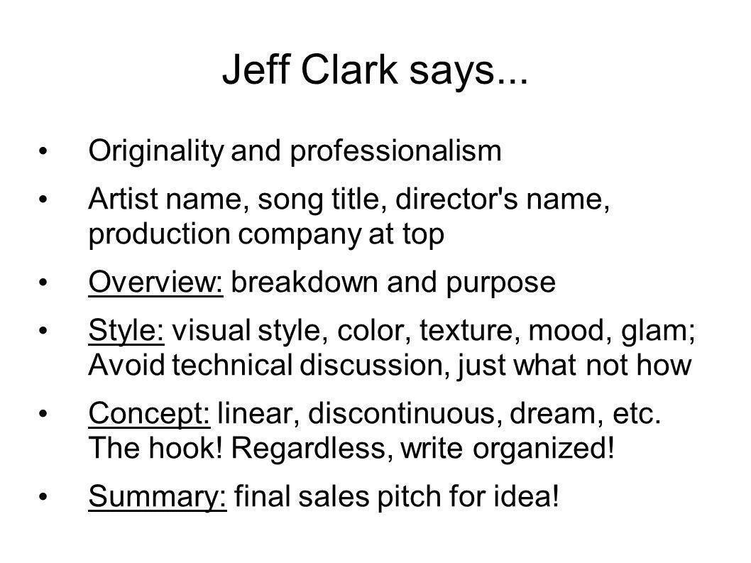 Jeff Clark says...