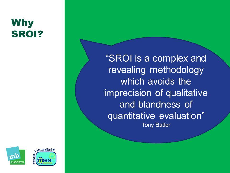 Why SROI.