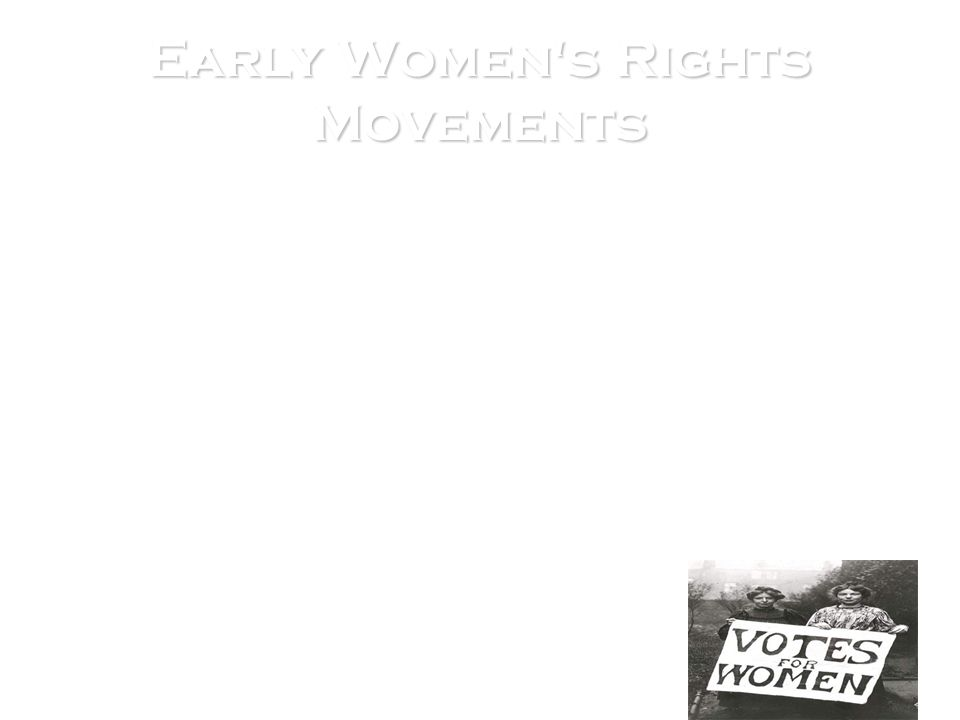 Early Women's Rights Movements In 1848, Elizabeth Stanton joined Mott, Mott's sister Martha Coffin Wright, and a group of other women in Seneca Falls.