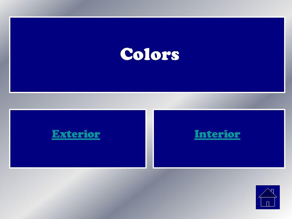 Colors ExteriorInterior