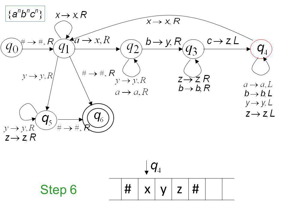Step 6 # x y z #