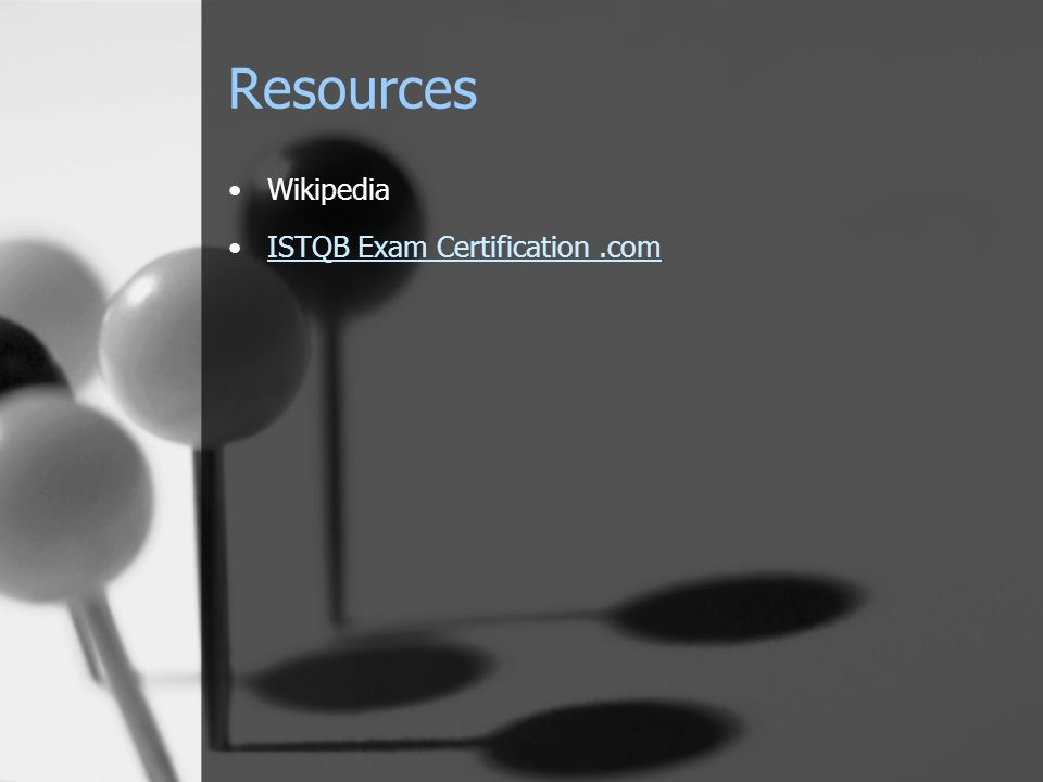 Wikipedia ISTQB Exam Certification.com Resources
