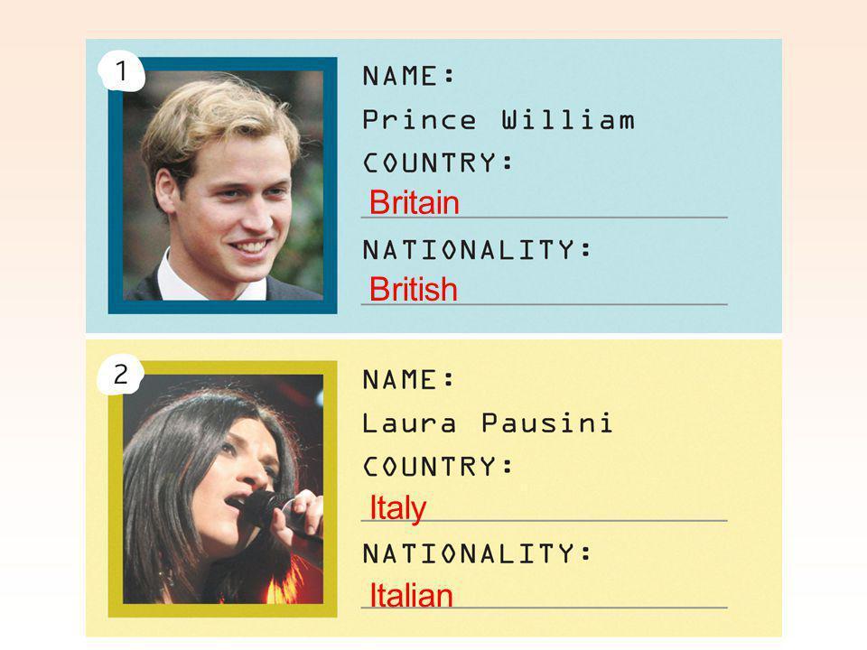 British Italy Britain Italian