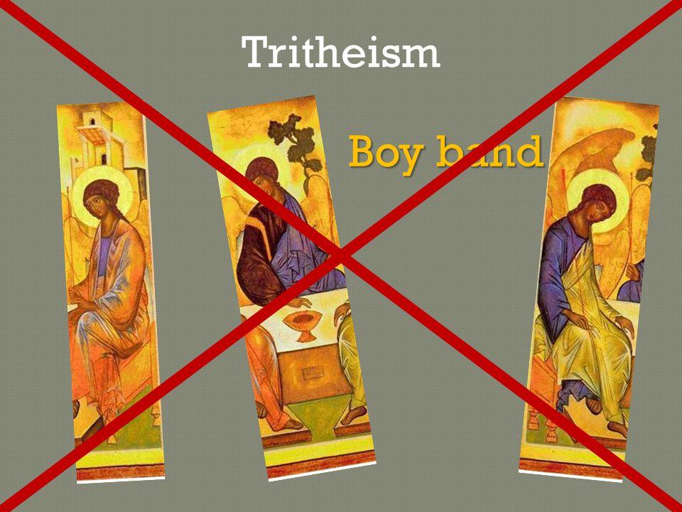 Boy band Tritheism