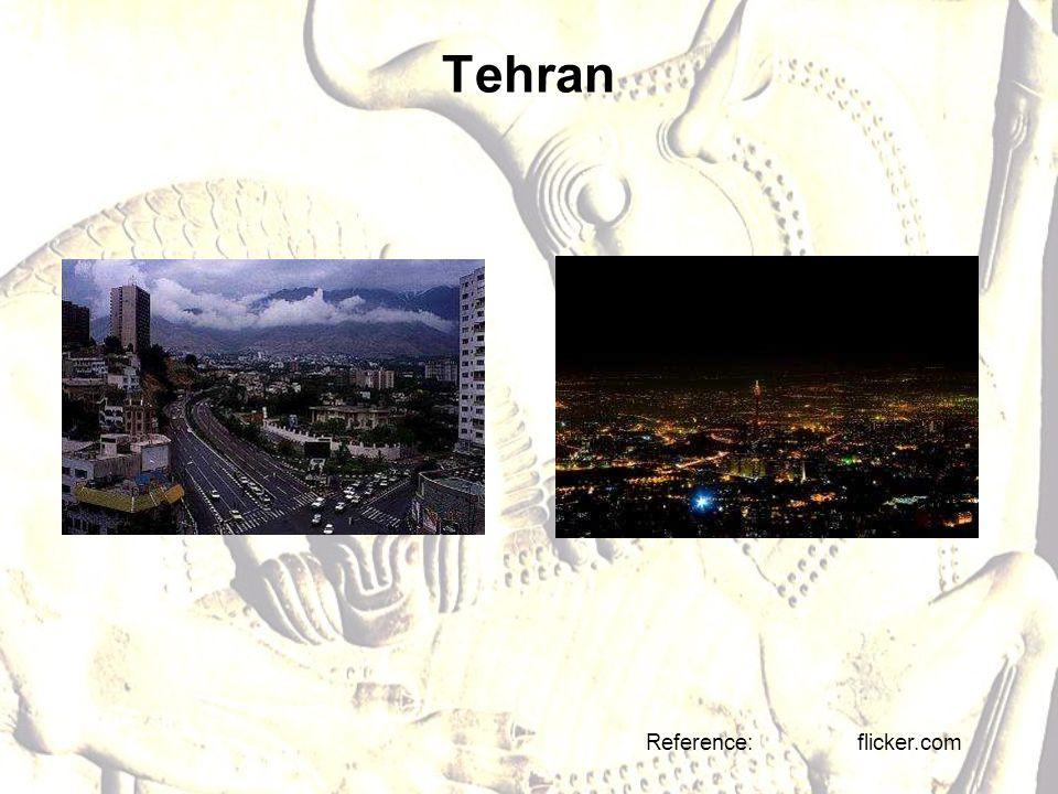 Tehran Reference: flicker.com