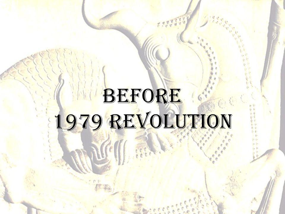 Before 1979 revolution