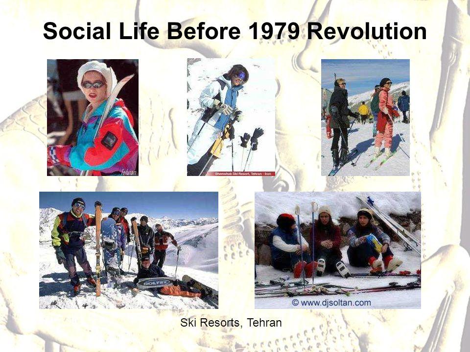 Ski Resorts, Tehran Social Life Before 1979 Revolution