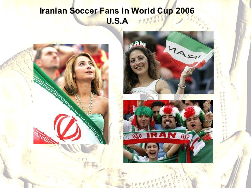 Iranian Soccer Fans in World Cup 2006 U.S.A