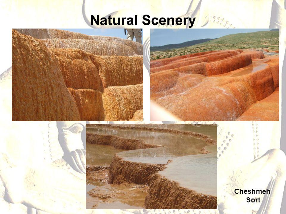 Natural Scenery Cheshmeh Sort
