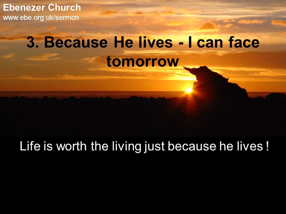 Ebenezer Church www.ebe.org.uk/sermon 3.