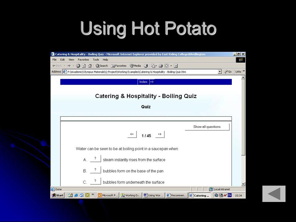 Using Hot Potato