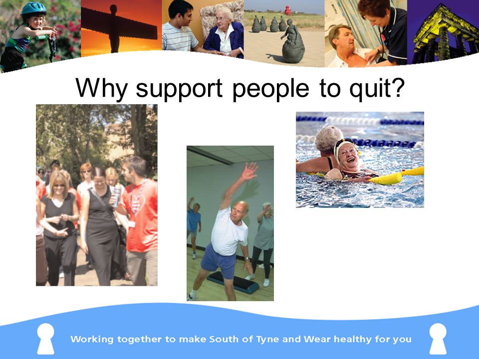 Why support people to quit