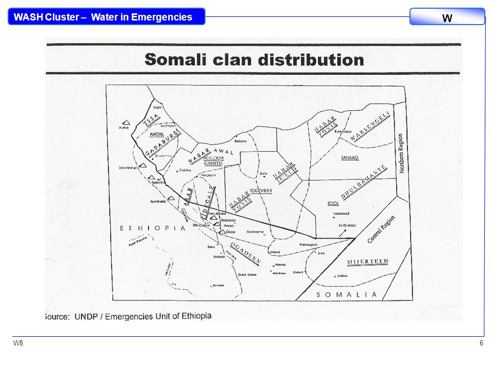 WASH Cluster – Water in Emergencies W W86