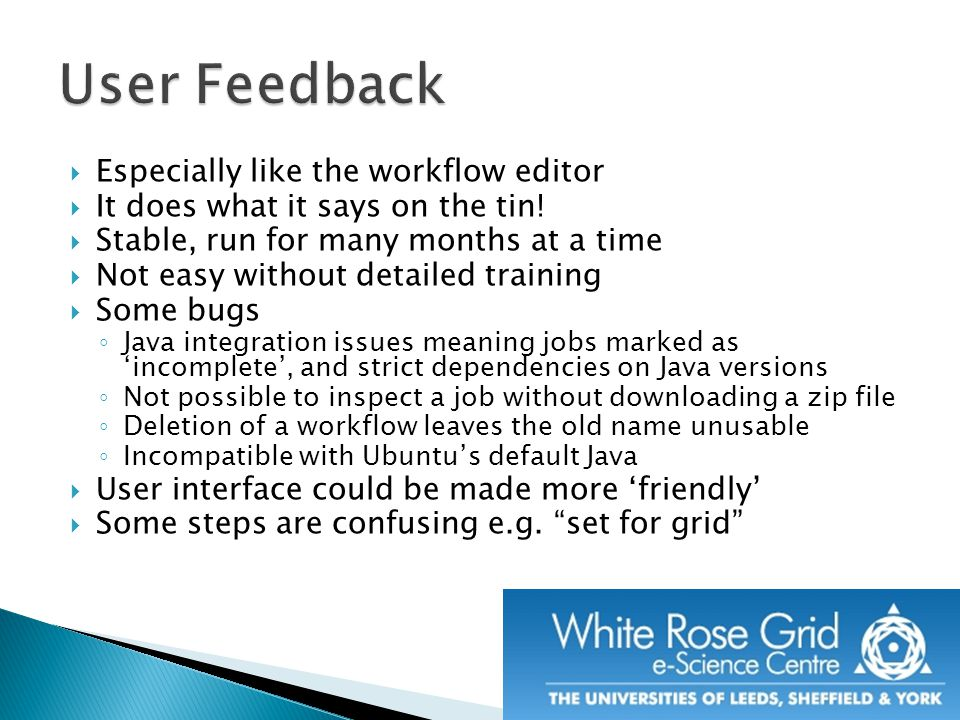  Especially like the workflow editor  It does what it says on the tin.