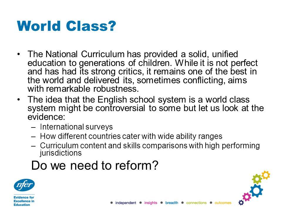 World Class.