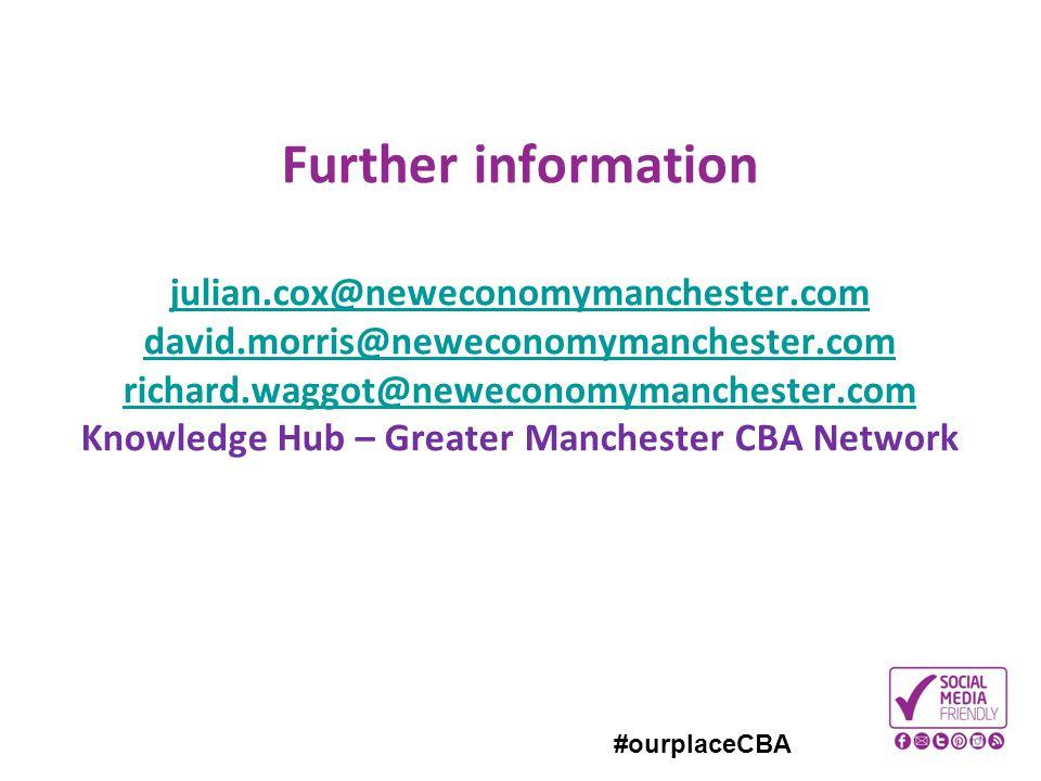 #ourplaceCBA Further information julian.cox@neweconomymanchester.com david.morris@neweconomymanchester.com richard.waggot@neweconomymanchester.com Kno